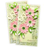 Postcard Congratulations - flowers and bouquets on roza.ck.ua