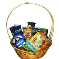 """Gift basket - Have a nice tea party"" in the online flower shop roza.ck.ua"
