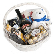Gift basket - Temptation and temptation - flowers and bouquets on roza.ck.ua