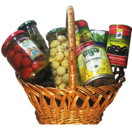 """Gift basket - Lanu to the table"" in the online flower shop roza.ck.ua"