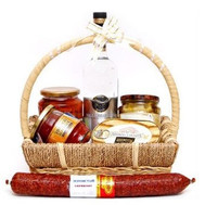 """Gift basket - Snack bar"" in the online flower shop roza.ck.ua"