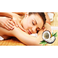 """Gift certificate for relaxing massage with coconut oil"" in the online flower shop roza.ck.ua"