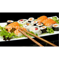"""Gift certificate in sushi bar"" in the online flower shop roza.ck.ua"