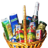 """Food basket - Bon appetite"" in the online flower shop roza.ck.ua"