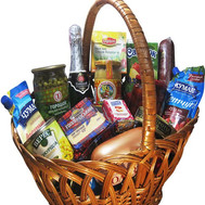 Grocery Basket - The Royal Masterpiece - flowers and bouquets on roza.ck.ua