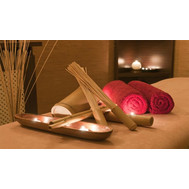Samurai massage with bamboo brooms - flowers and bouquets on roza.ck.ua