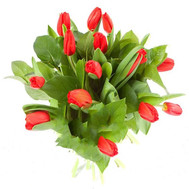 """Bright bouquet of tulips"" in the online flower shop roza.ck.ua"