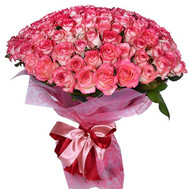 """101 rose Jamilia"" in the online flower shop roza.ck.ua"