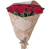 21 red roses - flowers and bouquets on roza.ck.ua
