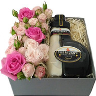 Flowers with Sheridan's liqueur - flowers and bouquets on roza.ck.ua