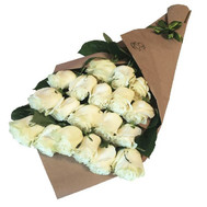 Cascade bouquet of imported roses - flowers and bouquets on roza.ck.ua