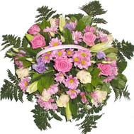 Корзина цветов - цветы и букеты на roza.ck.ua