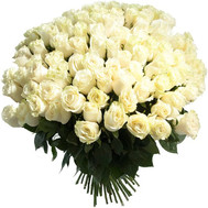 Large bouquet of imported roses - flowers and bouquets on roza.ck.ua