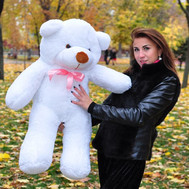"""Huge Meter Bear with delivery"" in the online flower shop roza.ck.ua"