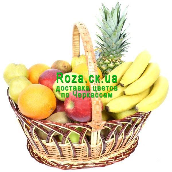 поздравление к подарку из корзины с фруктами пионерском