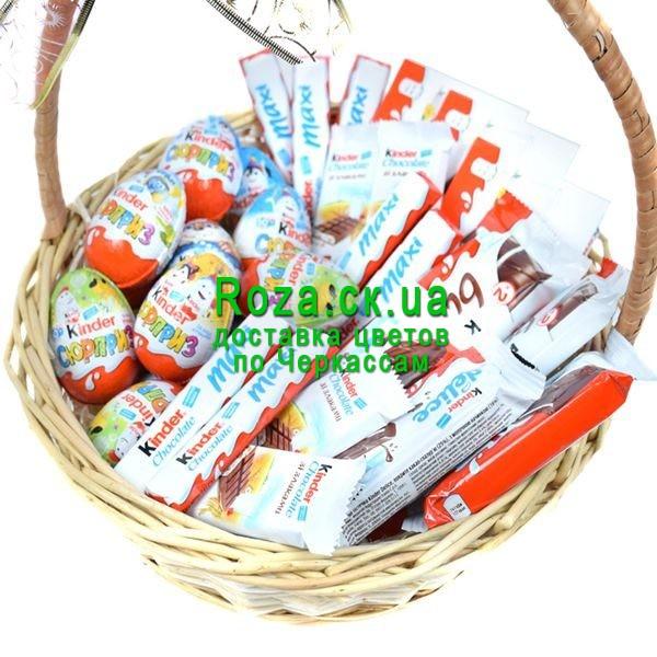 sélection premium ef04a 48b39 Sweet basket Kinder for children