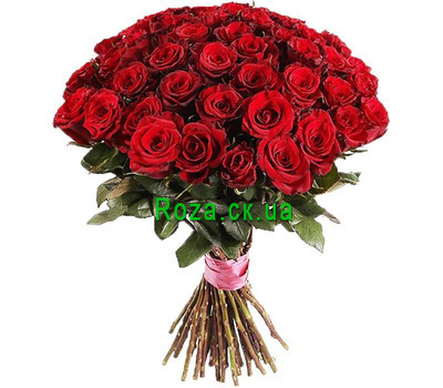 """""""Wonderful bouquet of red roses"""" in the online flower shop roza.ck.ua"""