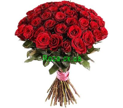 """""""Чудесный букет красных роз"""" в интернет-магазине цветов roza.ck.ua"""