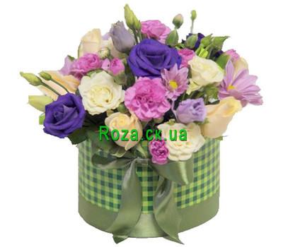 """""""Маленькая коробка с цветамиаленькая коробка с цветами"""" в интернет-магазине цветов roza.ck.ua"""