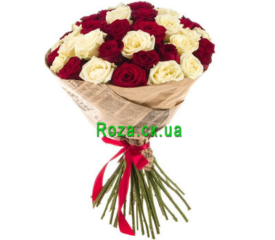 """Classic bouquet of roses"" in the online flower shop roza.ck.ua"