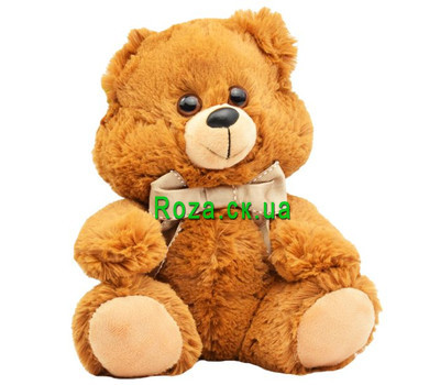 """A wonderful little bear cub"" in the online flower shop roza.ck.ua"