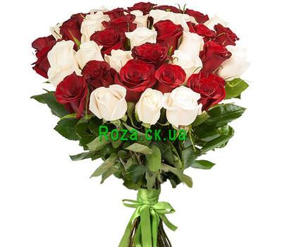 """""""Красивый букет импортных роз"""" в интернет-магазине цветов roza.ck.ua"""