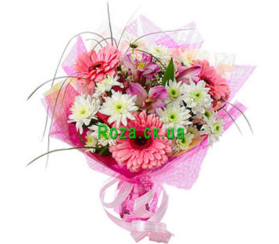 """Bouquet for the girl"" in the online flower shop roza.ck.ua"