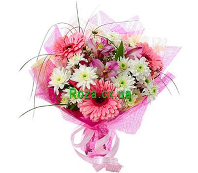 """""""Букет для девочки"""" в интернет-магазине цветов roza.ck.ua"""