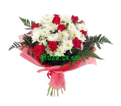 """Bouquet for the mother-in-law"" in the online flower shop roza.ck.ua"