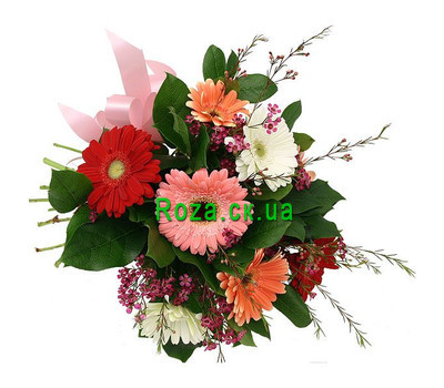 """Bouquet gerberas"" in the online flower shop roza.ck.ua"