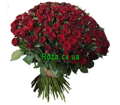 """Bouquet of 301 roses"" in the online flower shop roza.ck.ua"