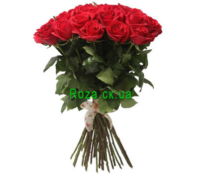 """Bouquet of 31 red roses"" in the online flower shop roza.ck.ua"