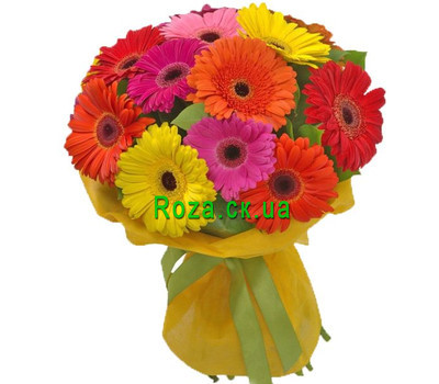 """Bouquet of gerberas"" in the online flower shop roza.ck.ua"