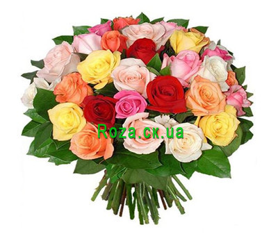 """Bouquet of short roses"" in the online flower shop roza.ck.ua"