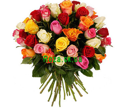 """Bouquet of roses Cherkassy"" in the online flower shop roza.ck.ua"