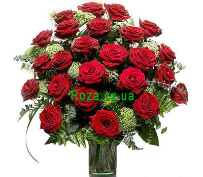 """A bouquet of roses for a man"" in the online flower shop roza.ck.ua"
