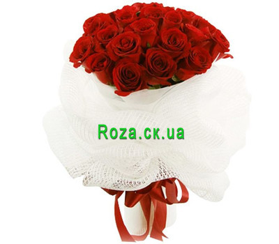 """Bouquet of roses in original design"" in the online flower shop roza.ck.ua"