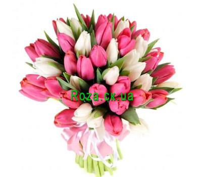"""""""Букет тюльпанов Черкассы"""" в интернет-магазине цветов roza.ck.ua"""