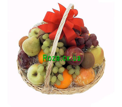 """Fruit Basket in Cherkassy"" in the online flower shop roza.ck.ua"