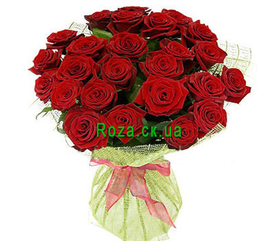 """Red roses in decoration"" in the online flower shop roza.ck.ua"
