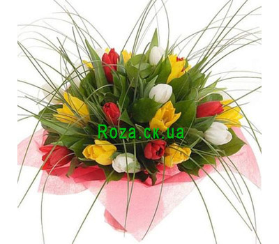 """Buy tulips from Cherkassy"" in the online flower shop roza.ck.ua"