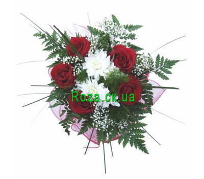 """Small bouquet"" in the online flower shop roza.ck.ua"
