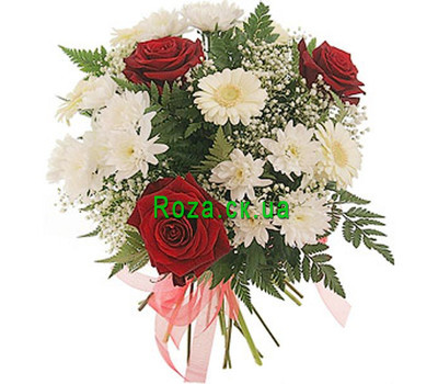 """A nice bouquet of flowers"" in the online flower shop roza.ck.ua"