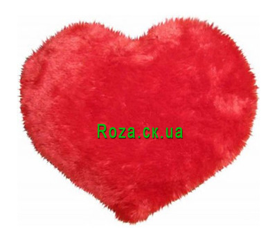 """Soft toy in the form of heart"" in the online flower shop roza.ck.ua"