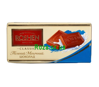 """Roshen chocolate"" in the online flower shop roza.ck.ua"