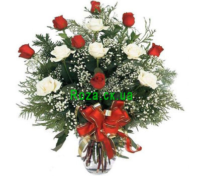 """Winter Bouquet"" in the online flower shop roza.ck.ua"