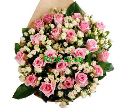 """Шикарный букет роз"" in the online flower shop roza.ck.ua"