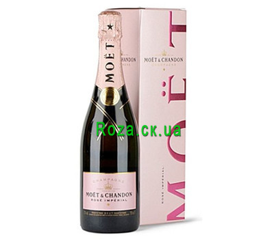 """Certificate for wine sparkling Moet&Chandon"" in the online flower shop roza.ck.ua"