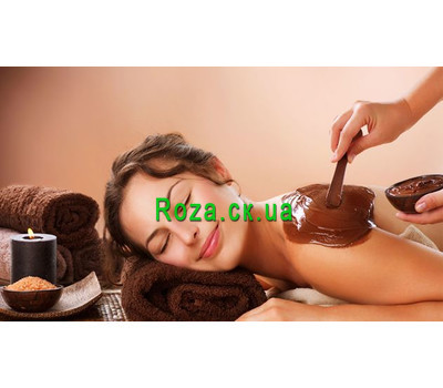 """Chocolate wrap + body massages"" in the online flower shop roza.ck.ua"