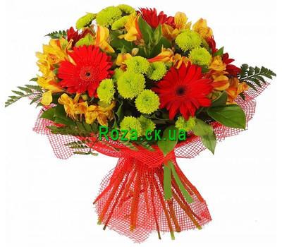 """""""Букет цветов для мужчины"""" в интернет-магазине цветов roza.ck.ua"""